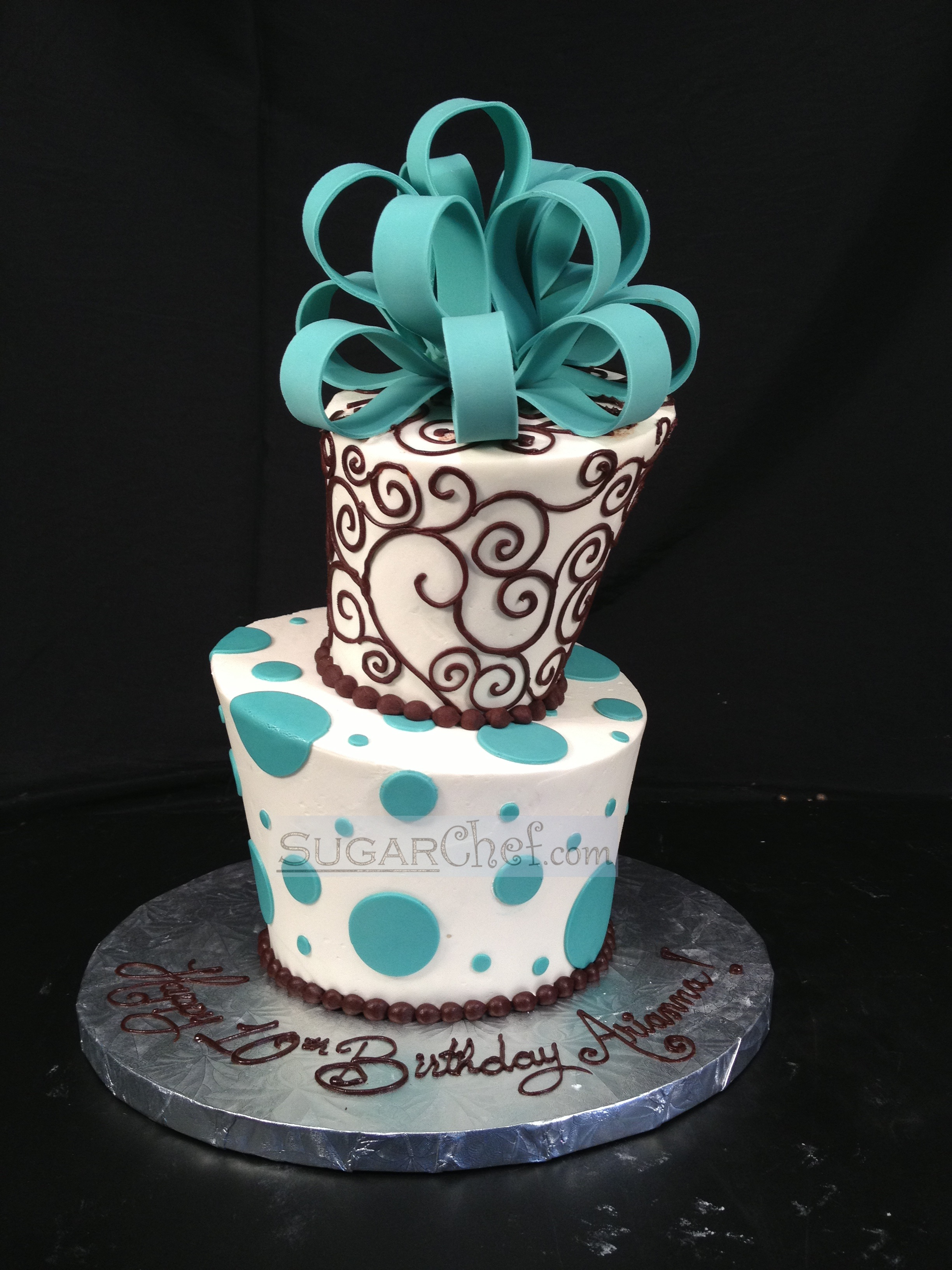 Whimsical Dots and Swirls